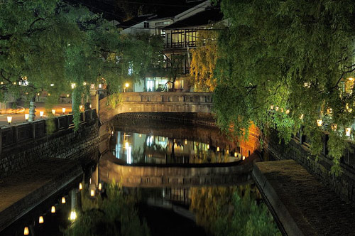 8月6日~8月9日は城崎温泉 湯流れ万灯